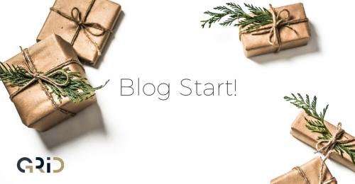 GRID、ブログはじめました