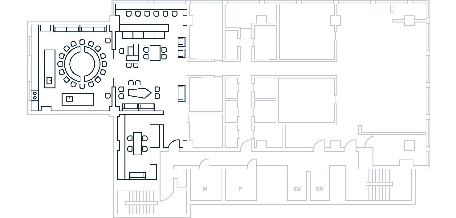 Midoriso Lounge Map